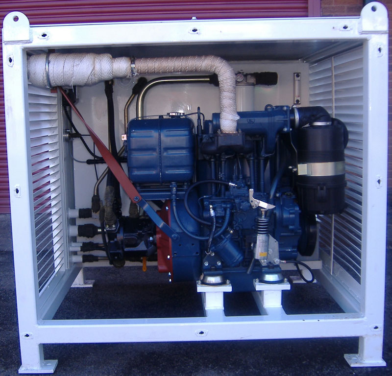 Deisel-Hydraulic-Power-Unit